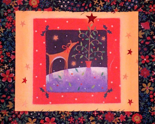 Reindeer-rosettacard