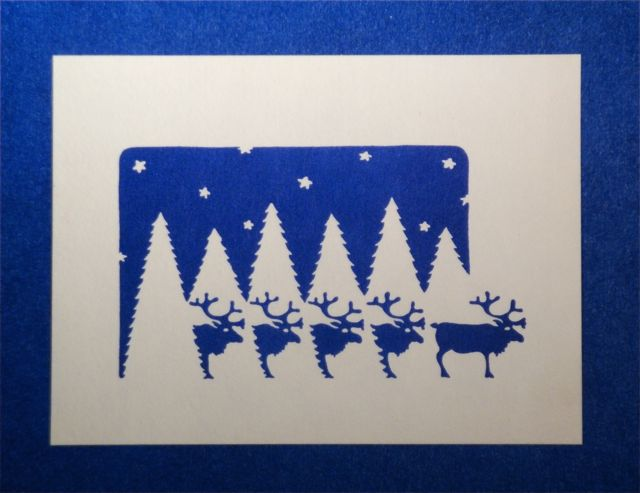 Reindeer-blue-cardv