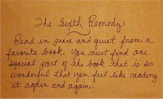 Reading-sixthremedy