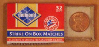 Scrapbook-fire-matchbox:penny