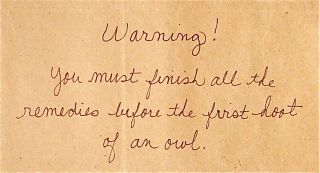 Scrapbook-warning