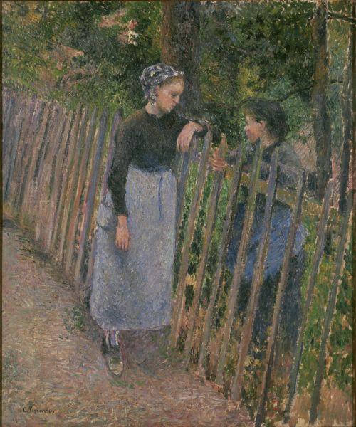Pissarro_Conversation
